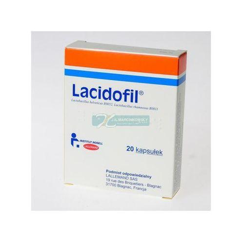 Lacidofil kaps. 2 mld CFU 20 kaps. (2 blist.po 10 szt.)