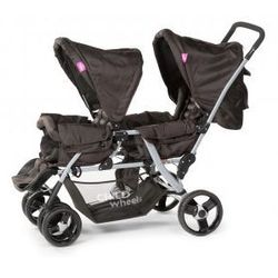 Wózek spacerowy dla bliźniaków Stretcher Tandem