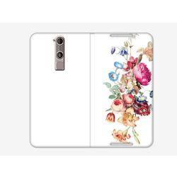Flex Book Fantastic - ZTE Axon Mini - pokrowiec na telefon - kwiaty