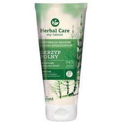 Farmona Herbal Care Odżywka do włosów w tubie Skrzyp polny odbudowująca 200ml