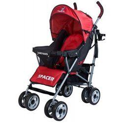 Caretero SPACER CLASSIC wózek dziecięcy spacerówka czerwony red