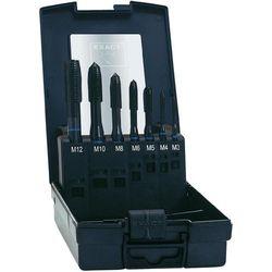 Zestaw gwintowników maszynowych przelotowy Exact, HSSE, nakrój B, DIN371, 7 szt