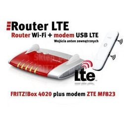 Router + LTE Zestaw FRITZ!Box 4020 + Modem ZTE MF823