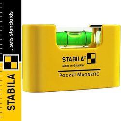 Poziomica kieszonkowa magnetyczna STABILA POCKET MAGNETIC