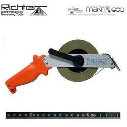 Taśma ruletka Richter stalowa nierdzewna z podziałem trawionym 464 SR/50m