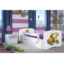 Łóżko dziecięce Kocot-Meble BABYDREAMS KOPARKA Kolory Negocjuj Cenę
