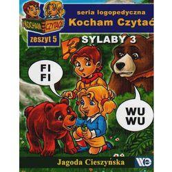Kocham Czytać Zeszyt 5 Sylaby 3 (opr. miękka)