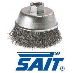 SAIT Szczotka druciana doczołowa Ø100 mm, śr. drutu 0,3 mm (97701)
