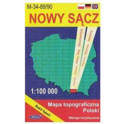 WZKart: NOWY SĄCZ 1:100 000 mapa topograficzna Polski wydanie turystyczne (opr. miękka)