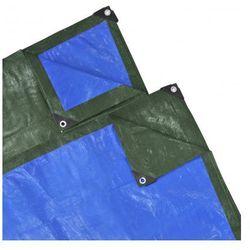 Plandeka, pokrywa (10 x 10 m) niebiesko-zielona 140 gsm Zapisz się do naszego Newslettera i odbierz voucher 20 PLN na zakupy w VidaXL!