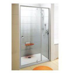 Drzwi prysznicowe PDOP2-100 Ravak Pivot obrotowe piwotowe dwuelementowe 03GA0101Z1
