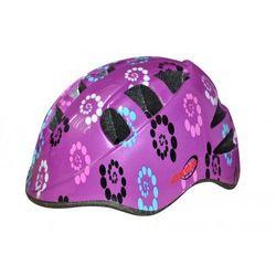 Kask rowerowy dziecięcy AXER BIKE Marcel New Pink (rozmiar S)
