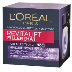 L'Oreal Paris, Revitalift Filler [HA]. Krem Anti-age na noc, 50 ml - L'Oreal Paris