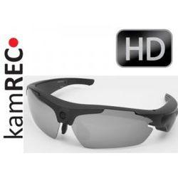 Sportowe okulary z kamerą HD 1280x720 BLACK