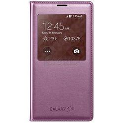 SAMSUNG S View Cover etui z okienkiem do Galaxy S5 różowy - EF-CG900BPEGWW