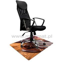Mata ochronna pod fotel na kółkach z nadrukiem 035 - 80x120cm - gr. 1,3mm