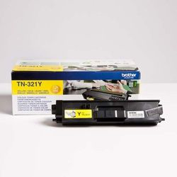 Brother oryginalny toner TN-321Y, yellow, 1500s, Brother HL-L8350CDW,HL-L9200CDWT