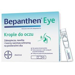 Bepanthen eye krople do oczu 20szt a 0,5ml