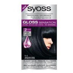 Schwarzkopf Syoss Gloss Sensation Farba do włosów 1-4 Jagodowa Czerń 1op.