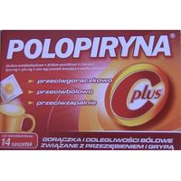 Polopiryna C Plus x 14sasz.