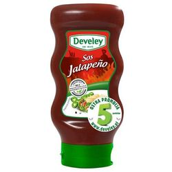 DEVELEY 440ml Sos Jalapeno