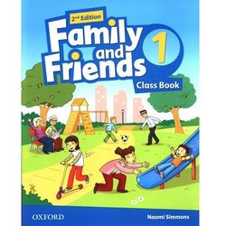 Family and Friends 2nd Edition 1 Course Book (opr. miękka)