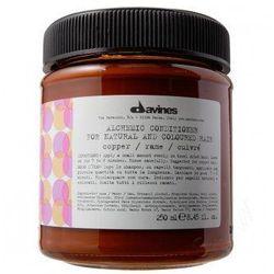 DAVINES ALCHEMIC COOPER - odżywka koloryzująca do włosów miedzianych 250 ml