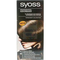 Syoss Farba do włosów 4-1 Średni Brąz