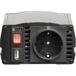 Przetwornica samochodowa VOLTCRAFT MSW 300-24-G, 300 W, 24 V/DC, Zabezpieczone gniazdo DE