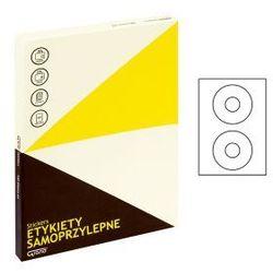 Etykiety na CD A4 GRAND średnica 117 100szt