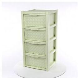 Regał szafka komoda 4 szuflady Arianna seledyn
