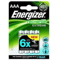 ENERGIZER Akumulatorek 3/4 AAA 800 mAh Extreme, opakowanie 4 sztuki