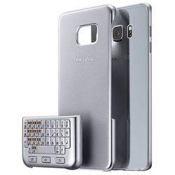 Etui SAMSUNG z klawiaturą do Galaxy S6 Edge Plus QWERTY Srebrna EJ-CG928BSEGWW EJ-CG928BSEGWW - Natychmiastowa wysyłka kurierska!