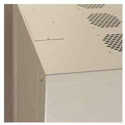 Netrack szafa wisz./stoj. 19'', 15U/450 mm – popiel, drzwi przeszklone