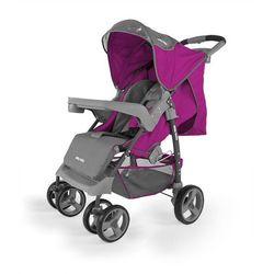 MillyMally Wózek spacerowy VIP, purpurowy