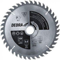 Tarcza do cięcia DEDRA H14016 140 x 20 mm do drewna