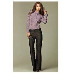 Czarne Spodnie Jeansowe z Prostymi Nogawkami