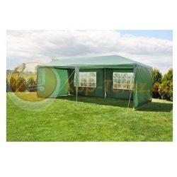 Pawilon Namiot Ogrodowy 3x6m + 6 Ścianek Zielony 3x6