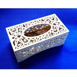 Pojemnik drewniany na chusteczki Decoupage 539-883