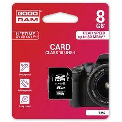 GOODRAM SD 8GB Class 10 UHS I DARMOWA DOSTAWA DO 400 SALONÓW !!
