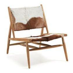 LaForma :: Fotel z naturalnej skóry IKE