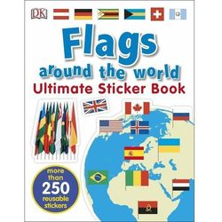 Flags Around the World Ultimate Sticker Book (opr. miękka)