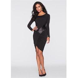 Sukienka wieczorowa bonprix czarny