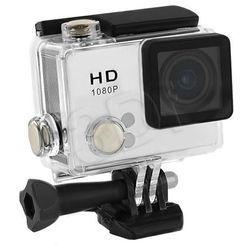 Qoltec Wodoodporna kamera sportowa | LCD 2.0 cala | Full HD