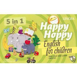 Happy Hoppy. Gry i zabawy z angielskim dla dzieci - Praca Zbiorowa