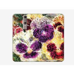 Flex Book Fantastic - ZTE Axon Mini - pokrowiec na telefon - płatki kwiatów