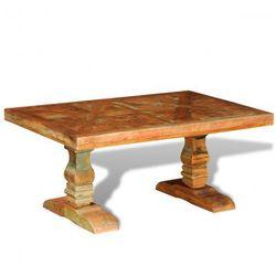 Stolik vintage, ława z drewna z odzysku Zapisz się do naszego Newslettera i odbierz voucher 20 PLN na zakupy w VidaXL!