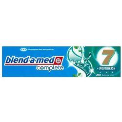 Blend-a-med Complete 7+ Mouthwash, pasta do zębów 100 ml