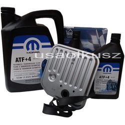 Olej MOPAR ATF+4 6,89l oraz filtr skrzyni biegów Dodge Durango -2003