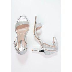 Dorothy Perkins RAINBOW Sandały silver
